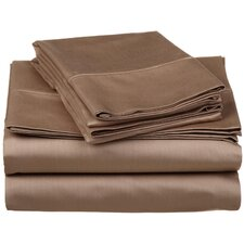 530 Thread Count Egyptian Cotton Solid Sheet Set