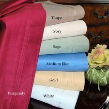 1000 Thread Count Egyptian Cotton Solid Sheet Set