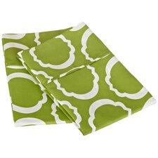 Scroll Park Cotton Rich 600 Thread Count Pillowcase Pair