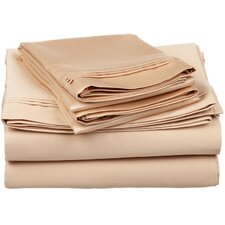 650 Thread Count Egyptian Cotton Solid Sheet Set