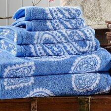 Superior Paisley 100% Cotton 6 Piece Towel Set