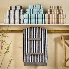 Superior Stripes 100% Cotton 6 Piece Towel Set