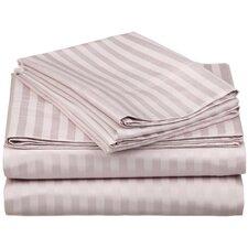 650 TC Egyptian Cotton Stripe Sheet Set