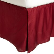 300 Thread Count Egyptian Cotton Solid Bed Skirt
