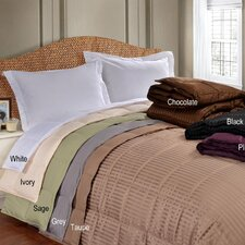 <strong>Simple Luxury</strong> All-Season Down Alternative Reversible Microfiber Blanket
