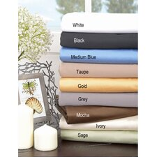 <strong>Simple Luxury</strong> 1500 Thread Count Egyptian Cotton Solid Sheet Set