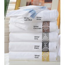 Luxor Treasures Serena 3 Piece Duvet Cover Set
