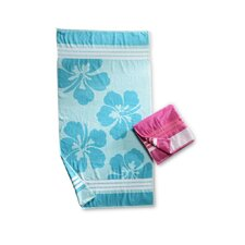 <strong>Simple Luxury</strong> Hawaiian Flower Beach Towel