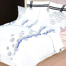 <strong>Simple Luxury</strong> Impressions Samantha Duvet Cover Set