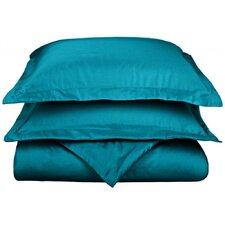 Cotton Rich 800 Thread Count Solid Duvet Cover Set
