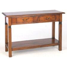 Mahogany Village Console Table