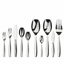 <strong>Gourmet Settings</strong> Cruise 45 Piece Flatware Set