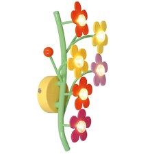 Deko-Wandleuchte 1-flammig ''Blumenmeer''