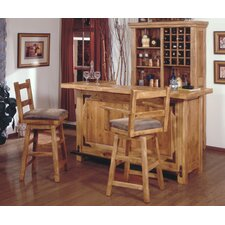 <strong>Artisan Home Furniture</strong> Lodge 100 Bar Table Set