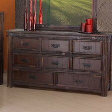 Cordoba 1080 Distressed 8 Drawer Dresser