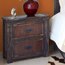 Cordoba 1080 2 Drawer Nightstand