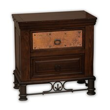 <strong>Artisan Home Furniture</strong> Valencia 2 Drawer Nightstand