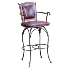 "24"" Swivel Bar Stool"