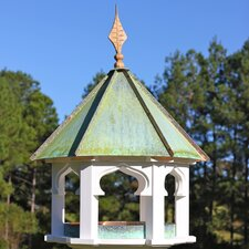 Carousel Cafe Gazebo Bird Feeder