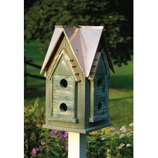 <strong>Heartwood</strong> Copper Mansion Bird House
