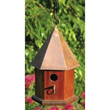 Copper Songbird Bird House