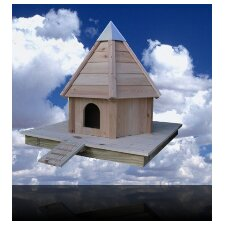 Aqua Duck House with Cypress/Wooden Roof