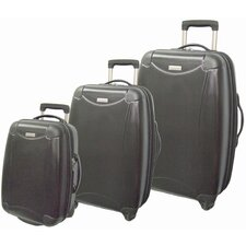 Eco-friendly ABS Hardsided 3 Piece Spinner Luggage Set