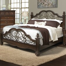 Sussex County Panel Bed