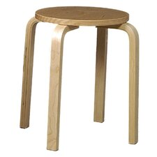 "<strong>Linon</strong> 18"" Bentwood Bar Stool"