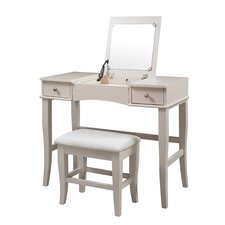 Jackson Vanity Set with Mirror