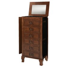 Iris Jewelry Armoire Mirror