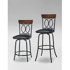Adjustable Height Bar Stool (Set of 3)