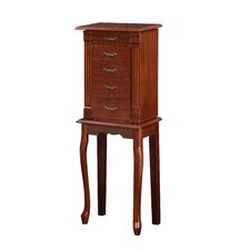 Maria Jewelry Armoire with Mirror