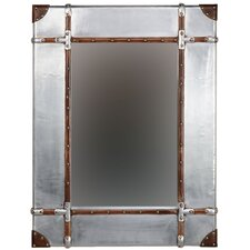 Aluminum Framed Wall Mirror