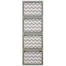 Chevron Wall Mounted Mailbox