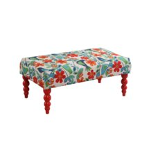 Claire Fabric Gazebo Bedroom Bench