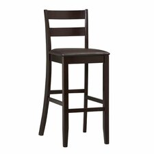 "Triena Soho 30"" Bar Stool with Cushion"