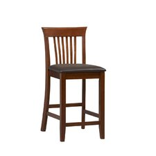 "<strong>Linon</strong> Triena 24"" Bar Stool with Cushion"