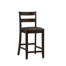 "Triena Soho 24"" Bar Stool with Cushion"