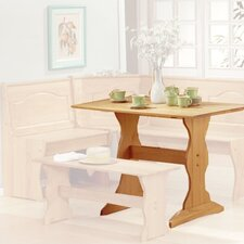 <strong>Linon</strong> Chelsea Nook Dining Table