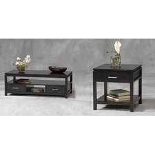 <strong>Linon</strong> Sutton Plasma Coffee Table Set
