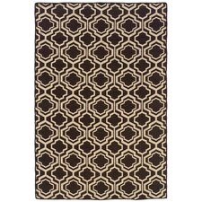 Salonika Brown Db Quatrefoil Rug