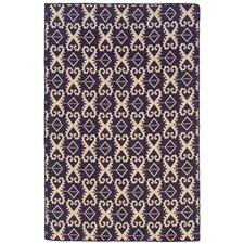 Salonika Purple Ikat Rug