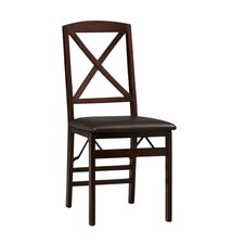 <strong>Linon</strong> Triena X Back Side Chair