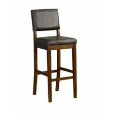 "<strong>Linon</strong> 24"" Milano Bar Stool"