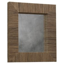 <strong>Linon</strong> Waterhyacinth Rectangle Mirror