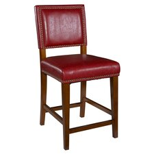 "Brook 24"" Bar Stool with Cushion"