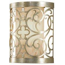 Arabesque 1 Light Half Moon Wall Sconce