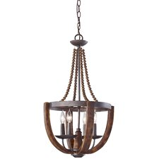Adan 4 Light Chandelier