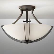 Brody 3 Light Semi Flush Mount
